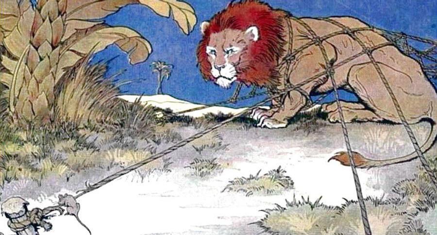 Esopo - Il leone e il topo