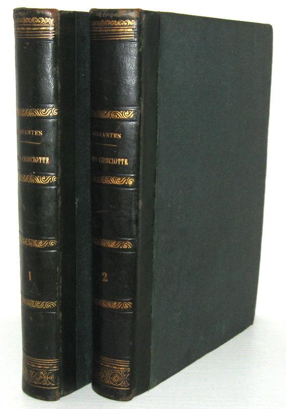 Un capolavoro della letteratura spagnola: Cervantes - Don Chisciotte della Mancia - 1870 (figurato)