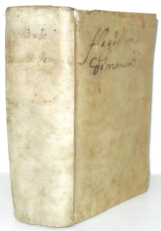 Diavolo ed esorcismo: Girolamo Menghi - Flagellum daemonum & Fustis daemonum - 1620 (rarissimo)