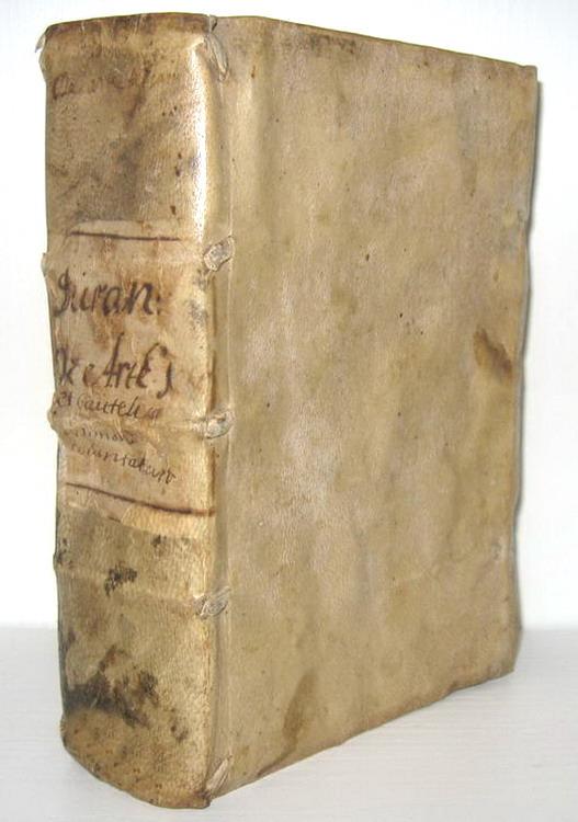 Giovanni Diletto Durante - Tractatus de arte testandi et cautelis ultimarum voluntatum - 1574