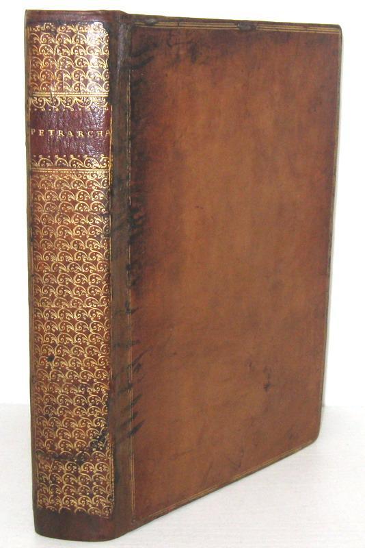 Francesco Petrarca - Sonetti, Canzoni e Trionfi - Venezia, Stagnino 1519 (con 7 stupende xilografie)