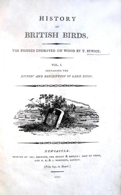 Thomas Bewick - History of british birds - 1797-1804