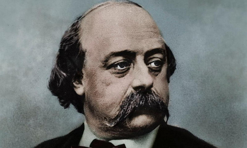 Gustave Flaubert - La foglia caduta si agita e vola via col vento