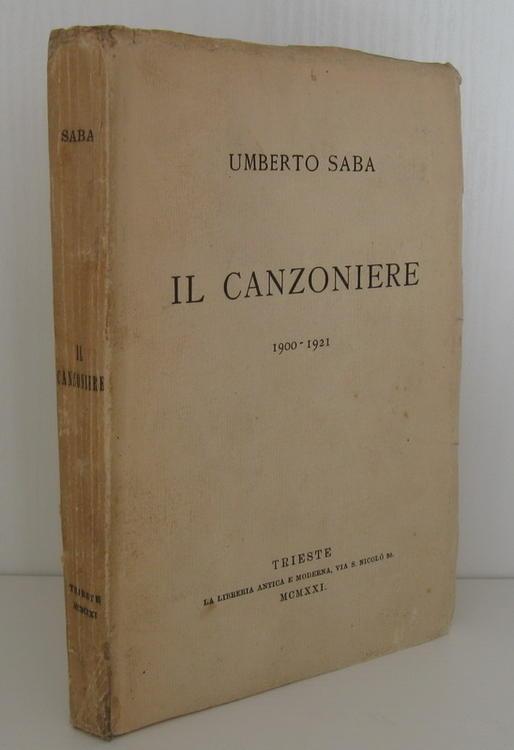 Prime Edizioni Autografate  Umberto Saba