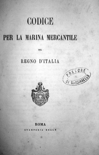 Codice per la marina mercantile del Regno d'Italia
