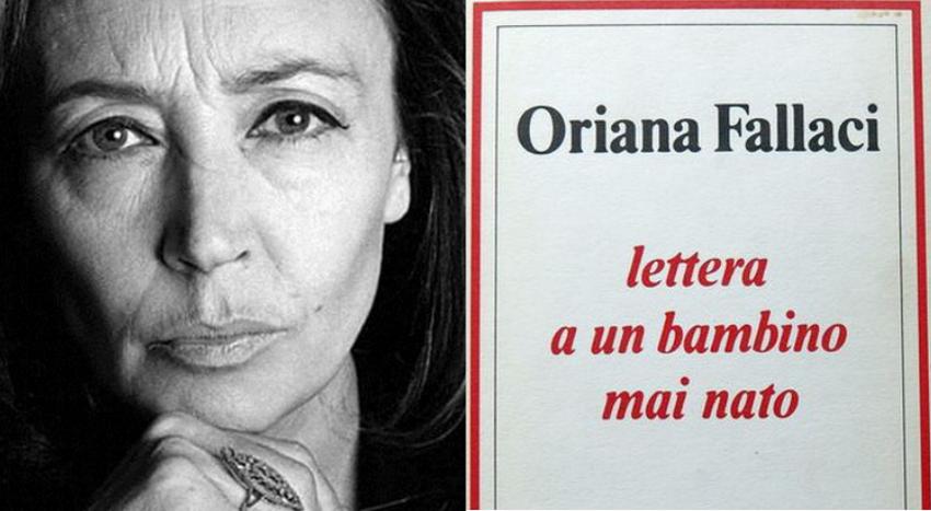 Oriana Fallaci - Lettera a un bambino mai nato (incipit)