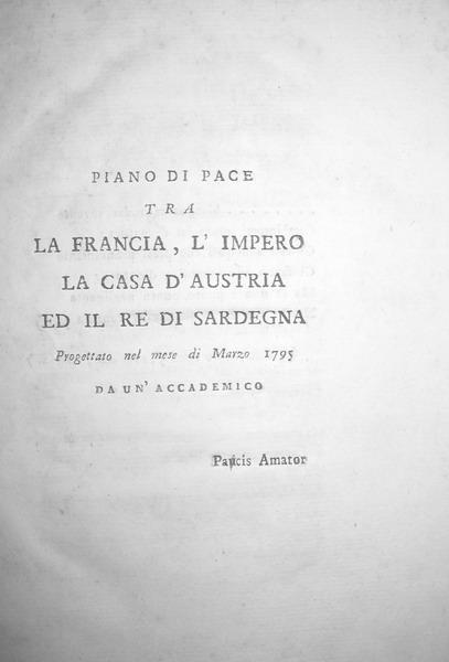 Giuseppe Lattanzi - Piano di pace