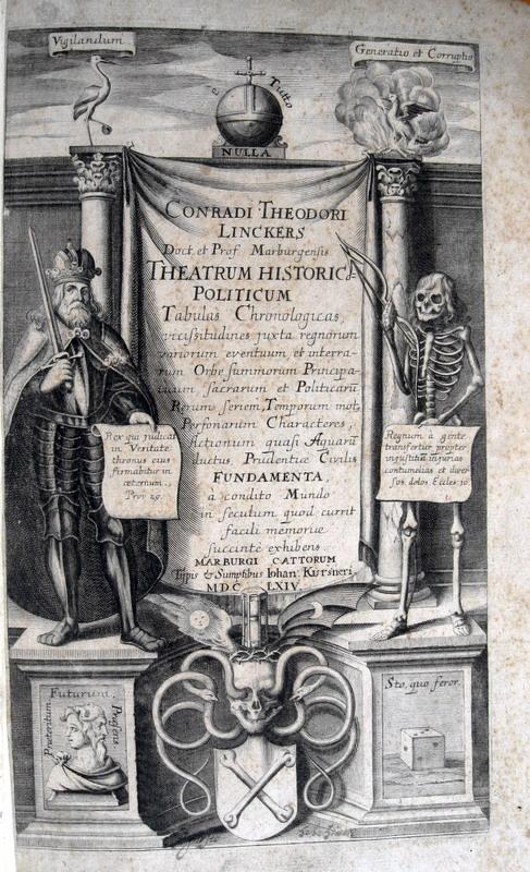 Lincker - Theatrum historicum politicum - 1664 (prima edizione)